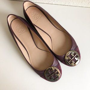 Tory Burch Purple Flats Size 10